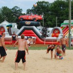 Independence, Iowa sand volleyball