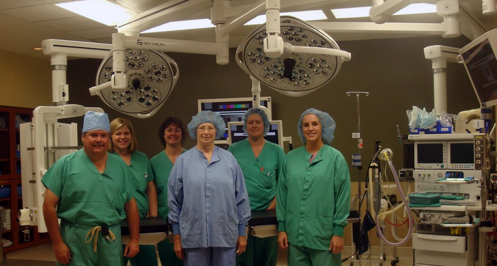 Buchanan County Health Center Surgical Team